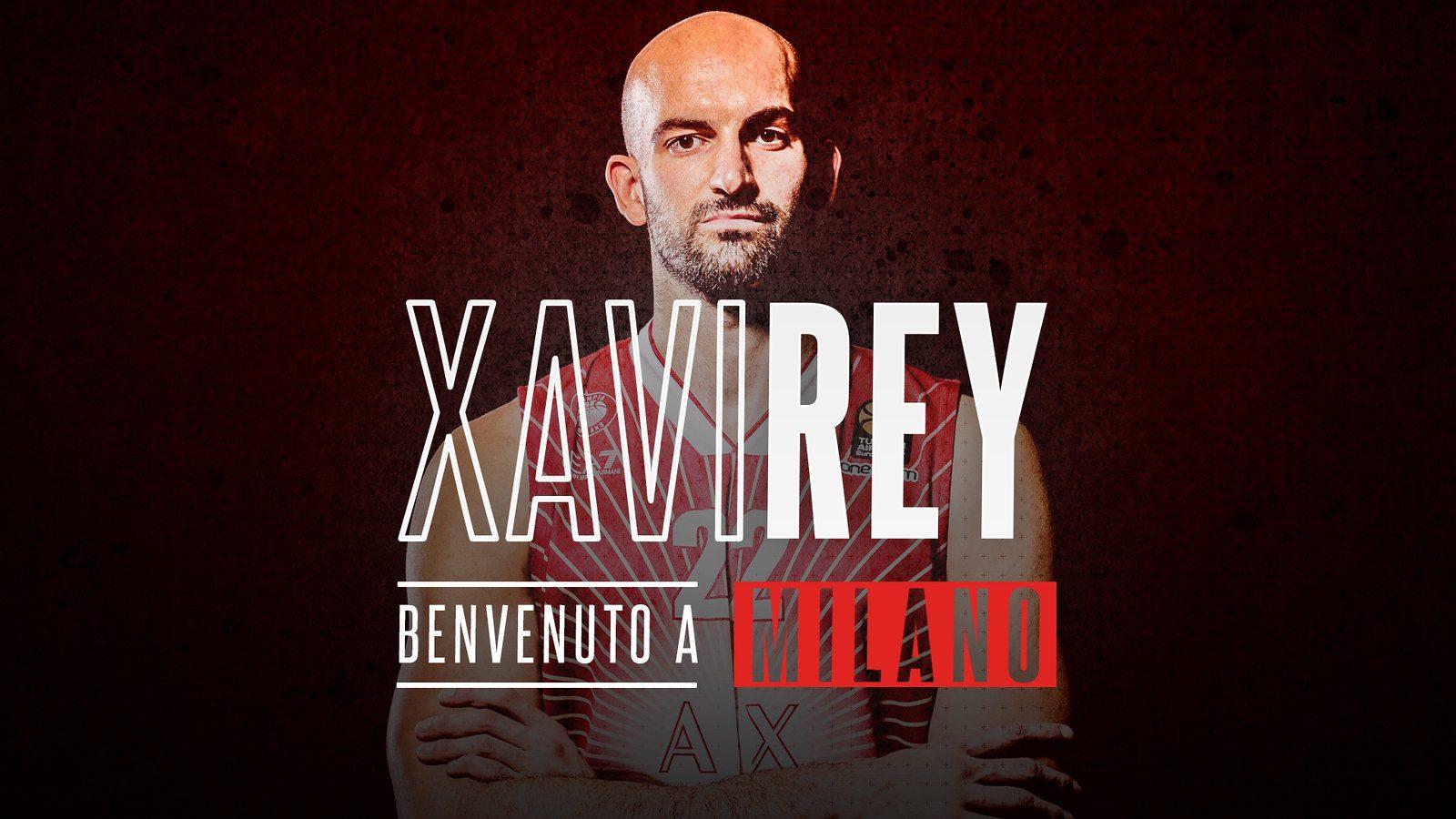 Xavi Rey jugará con Sergio Rodríguez en Milán