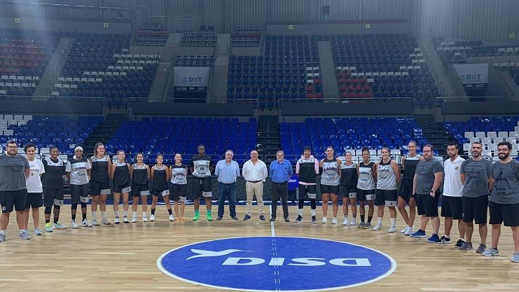 El director general de Deportes visitó al Clarinos