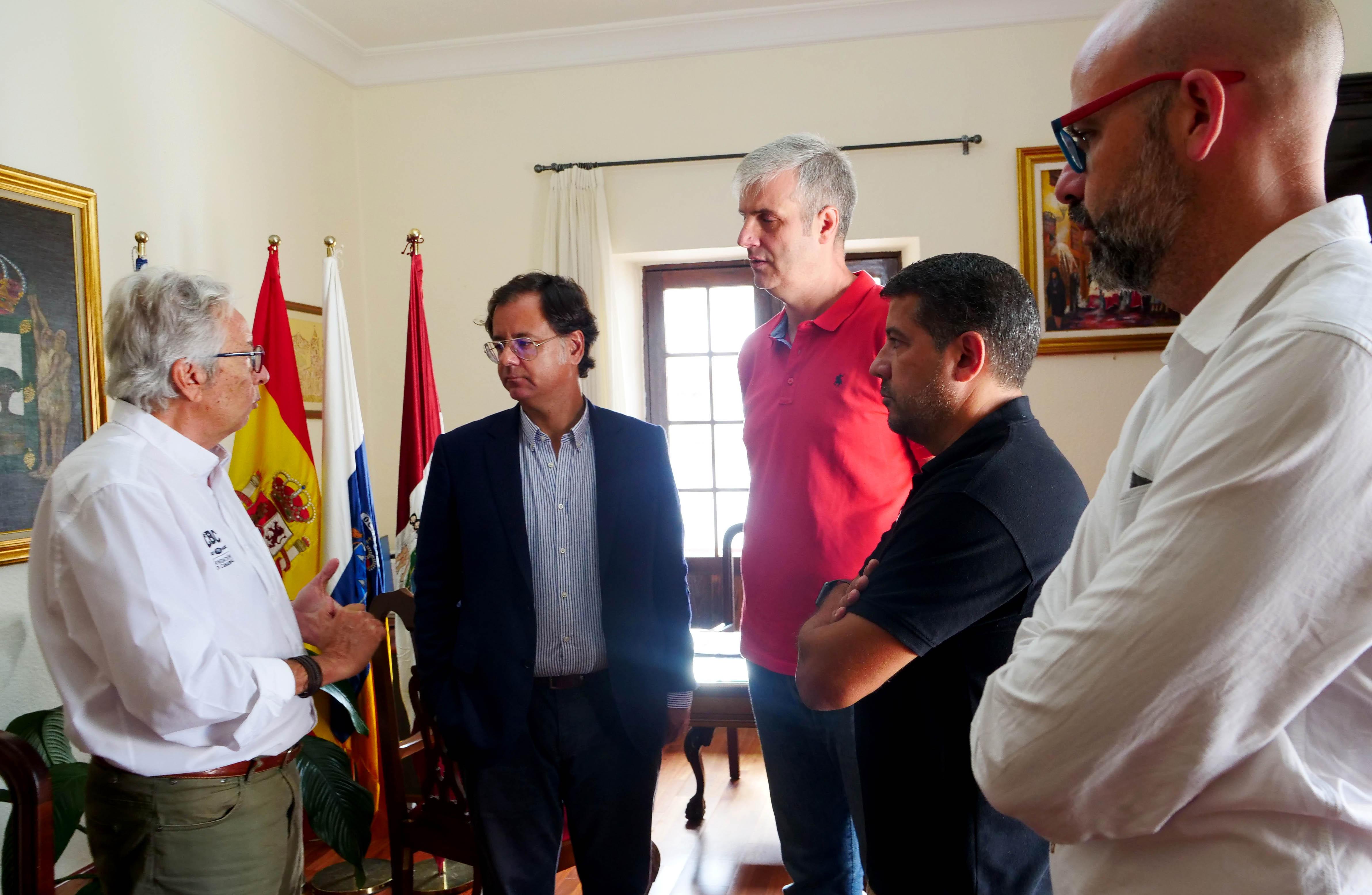 Acuerdo aurinegro con el Hércules y el Ayuntamiento de Icod de los Vinos