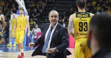 Vidorreta, sobre Aguilar: «Nos ha faltado el cuatro titular que fichamos»