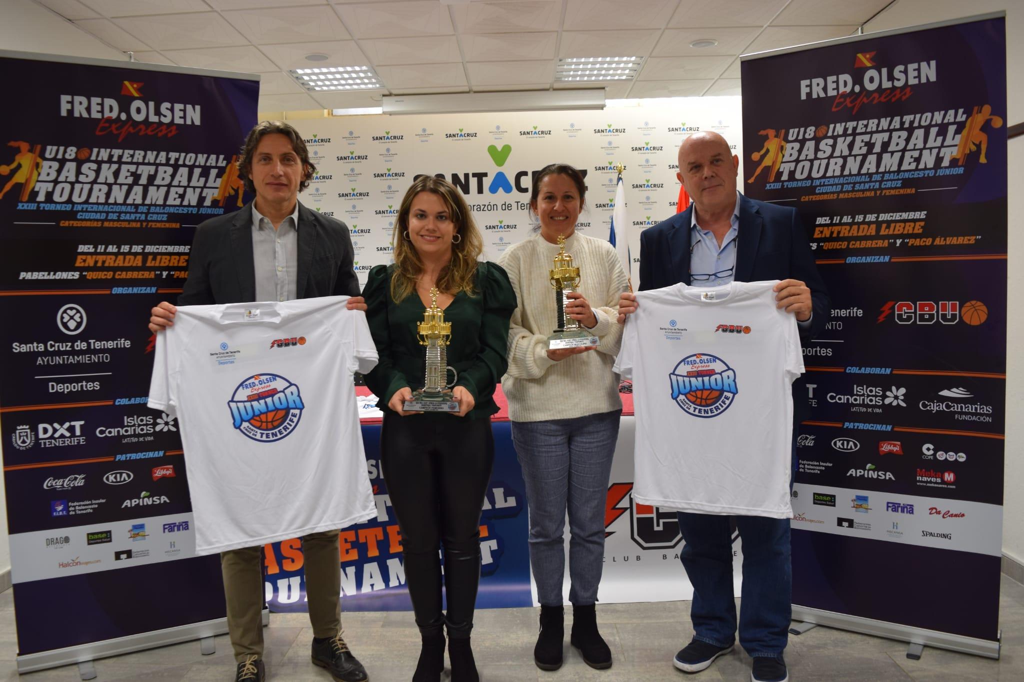 El 'XXIII Fred Olsen Express U18 International Basketball Tournament' mostrará lo mejor de la cantera europea en Santa Cruz de Tenerife
