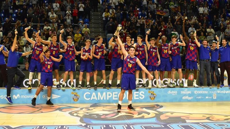 El Barça, campeón de la Minicopa