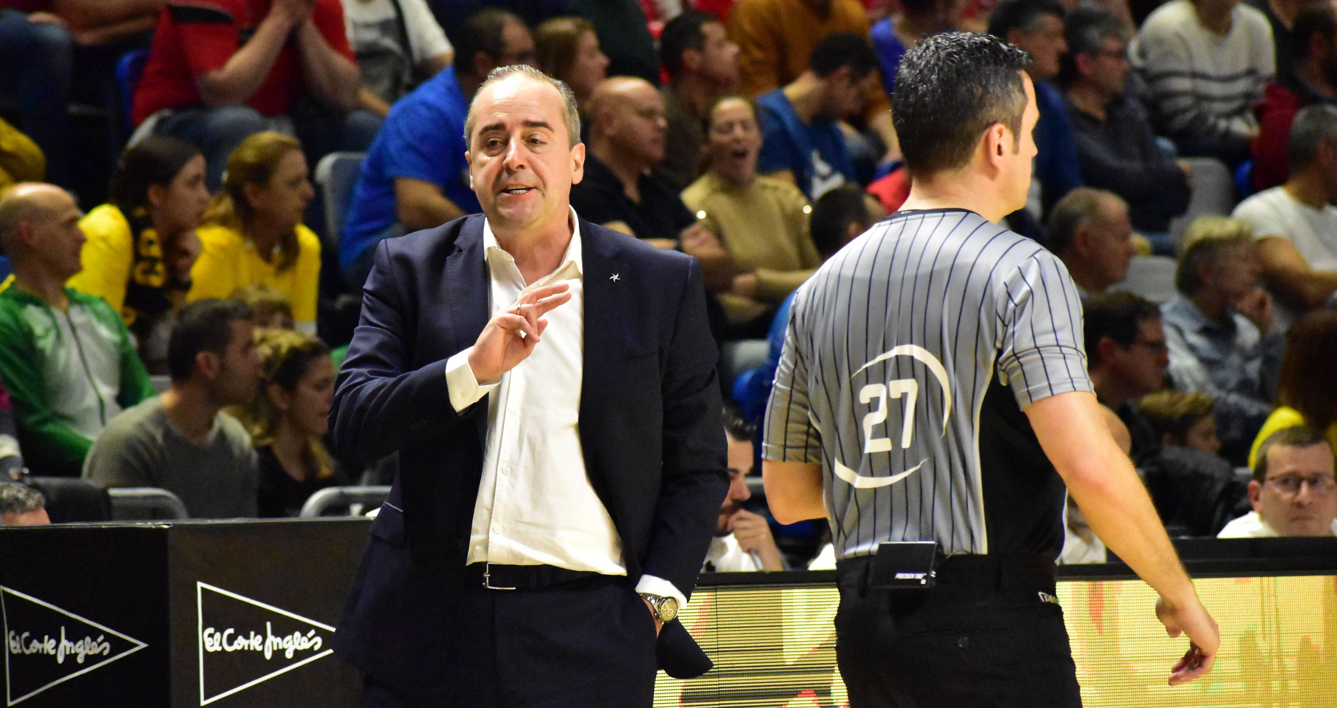Vidorreta señala a los árbitros como los principales culpables de la eliminación copera