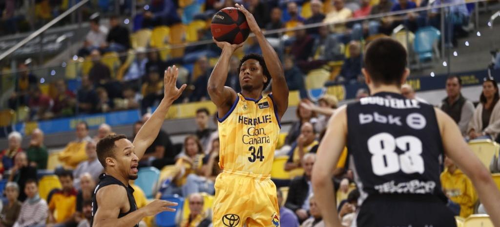 Contundente triunfo del Gran Canaria – Claret ante el Bilbao Basket