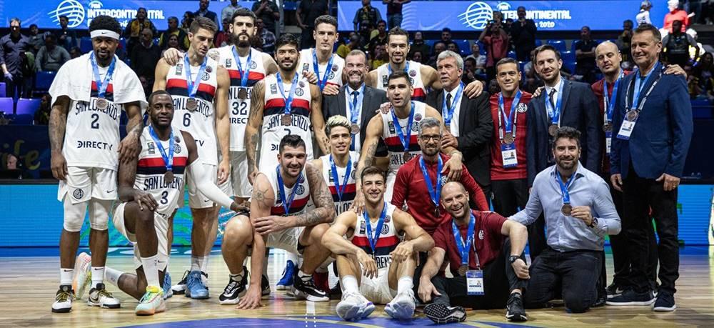 San Lorenzo de Almagro, medalla de bronce de la Copa Intercontinental Tenerife 2020