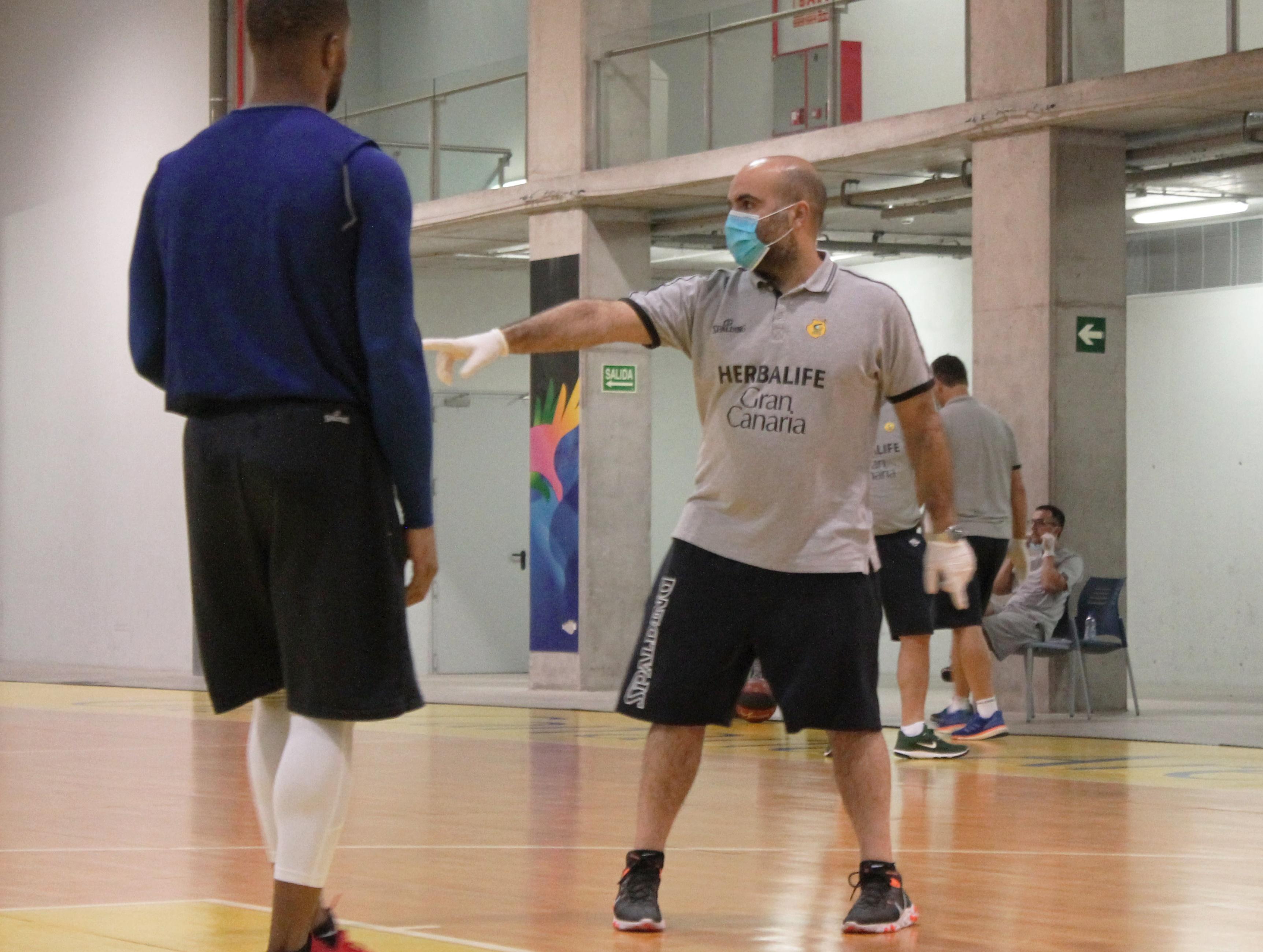 El Gran Canaria-Claret comienza los entrenamientos por grupos