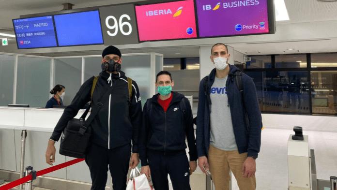 Saiz y Aguilar regresan de Japón