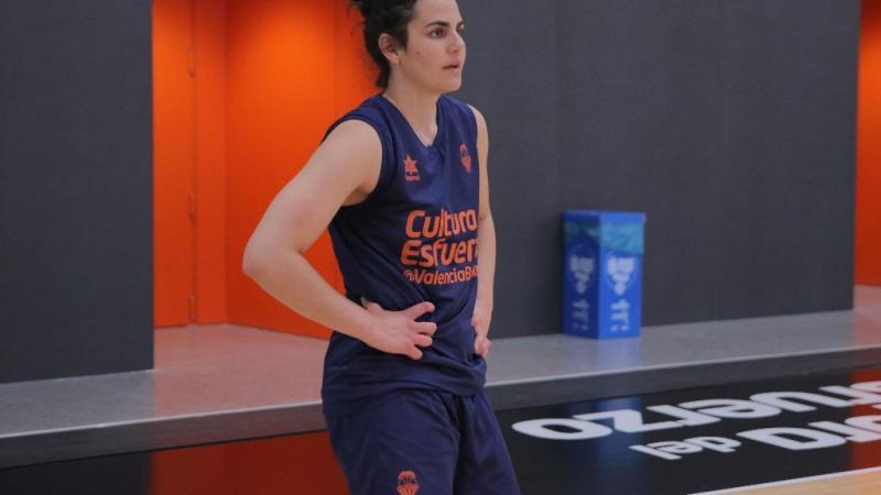 Leticia Romero vuelve a entrenar