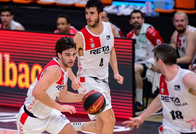 Sergio Rodríguez disputó su último partido con Bilbao Basket