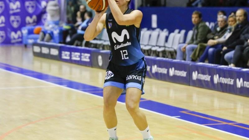 María Espín jugará en Liga Femenina con Estudiantes