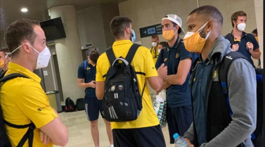 Aurinegros y amarillos ya están en Valencia