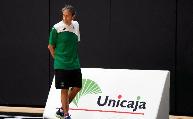 Casimiro, preocupado por la conexión Huertas-Shermadini y los tres ex del Málaga