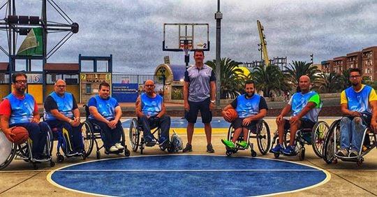 [VÍDEO] El CB 7 Palmas crea una sección de Baloncesto en Silla de Ruedas