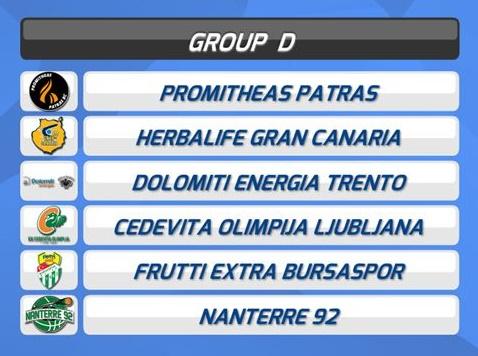 Grupo asequible para el Gran Canaria-Claret en Eurocup