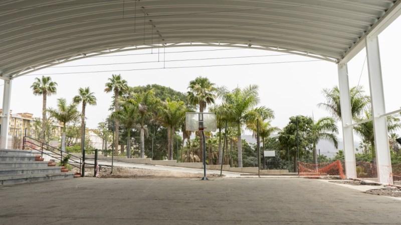 El Ayuntamiento de Santa Cruz de Tenerife invierte medio millón de euros en el polideportivo de Las Delicias