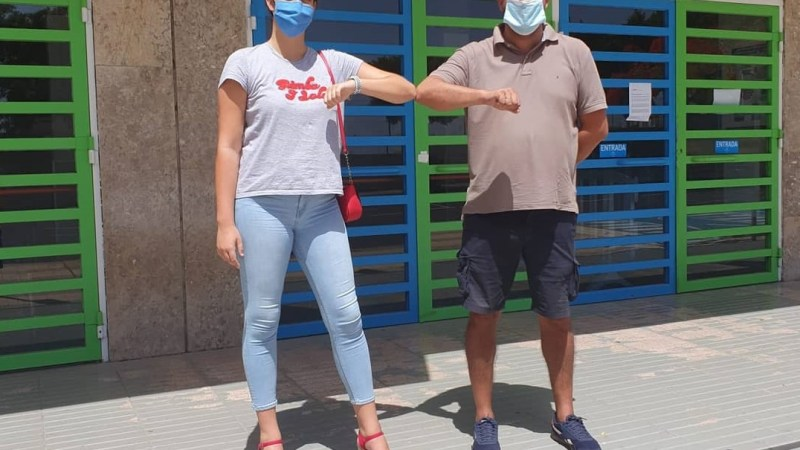 Carla Ojeda, pívot grancanaria de futuro para el Tenerife Central