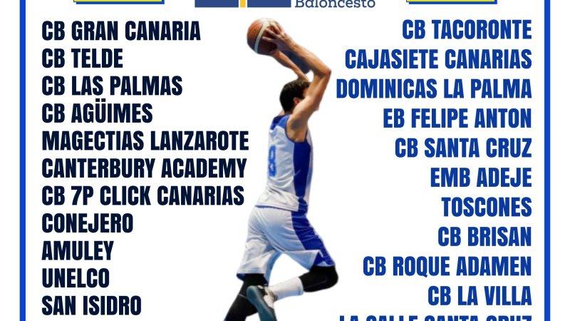 La Federación Canaria propone que la Liga Júnior Autonómica Masculina 20/21 sea de veintisiete equipos