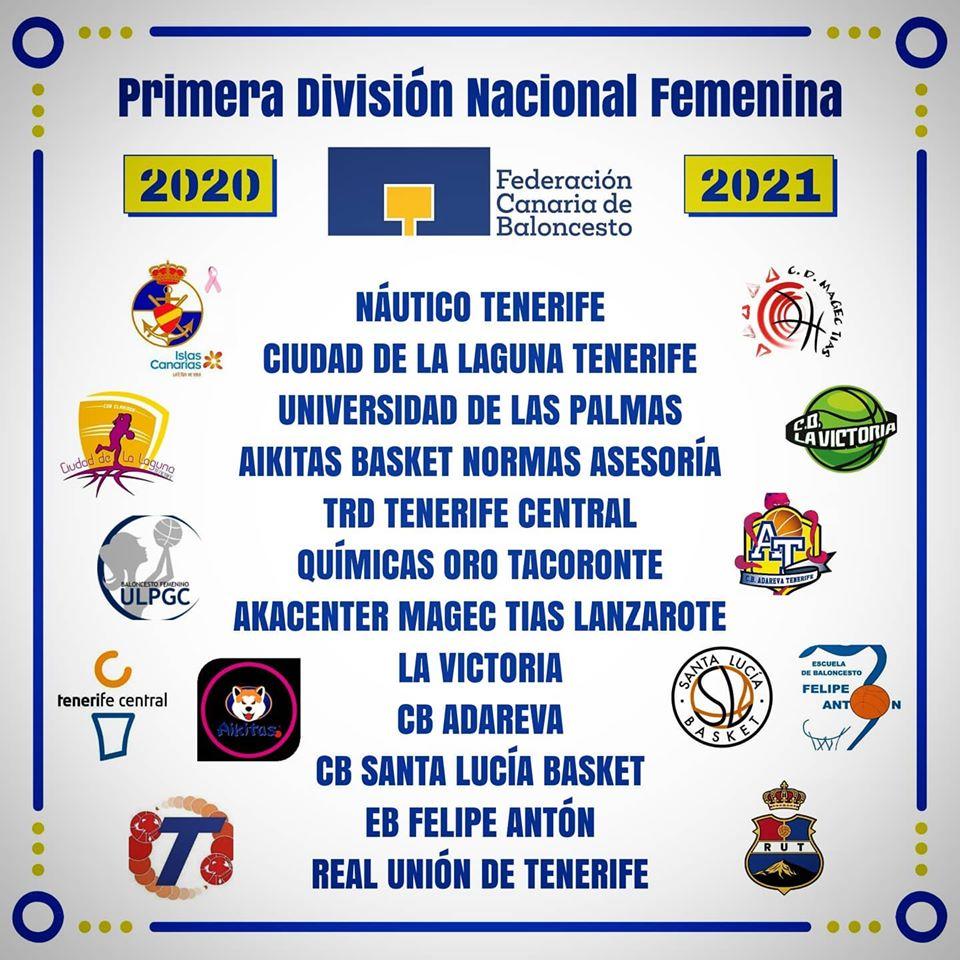 La Federación Canaria propone que la Primera Autonómica Femenina 20/21 sea de doce equipos