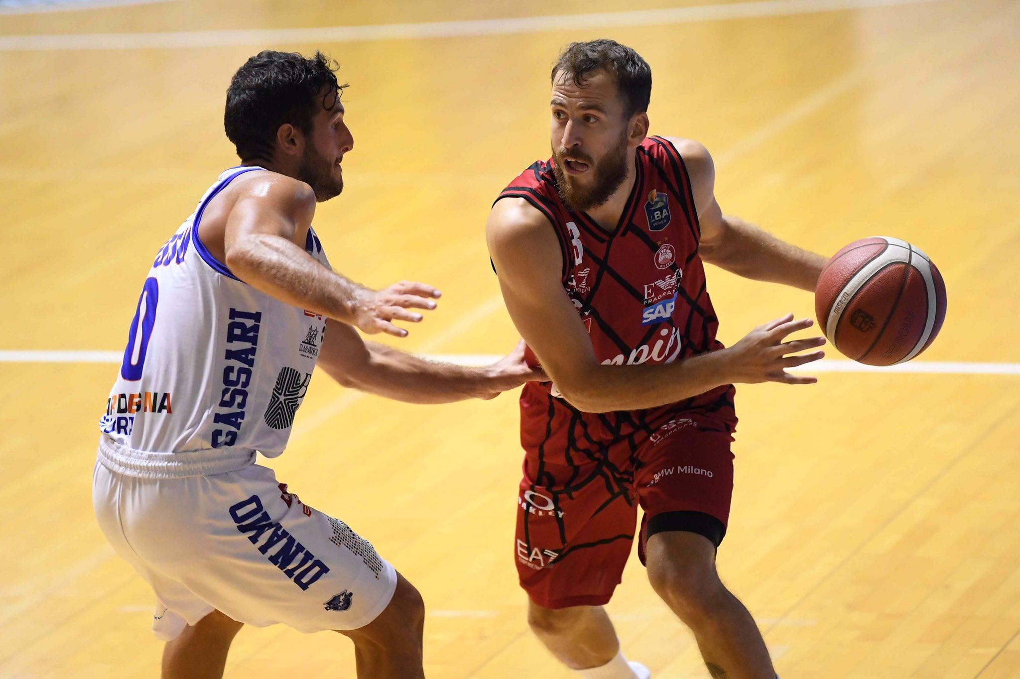 Sergio Rodríguez gana al Sassari, rival aurinegro en la BCL, en su primer partido de pretemporada