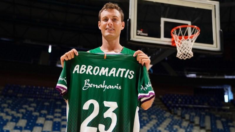 [VÍDEO] Abromaitis decidió fichar por Málaga porque «para mí siempre ha sido uno de los mejores equipos de Europa»