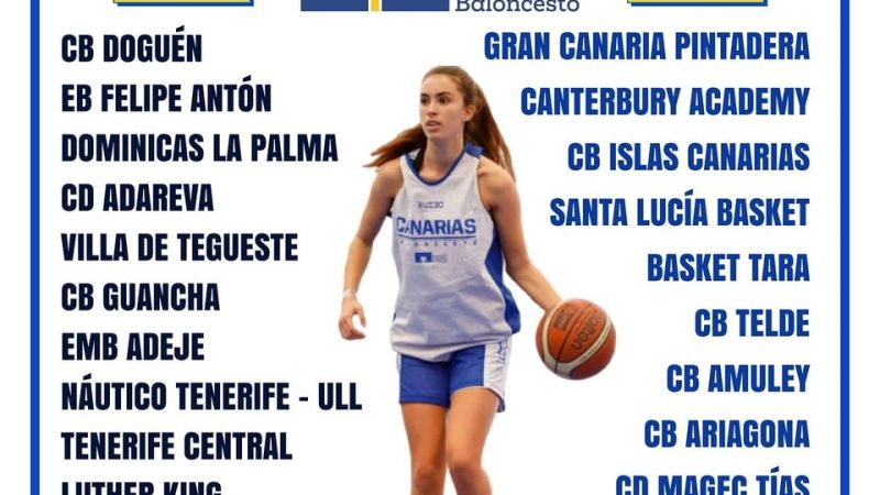 La Liga Canaria Cadete Femenina comenzará el 1 de noviembre con cinco grupos