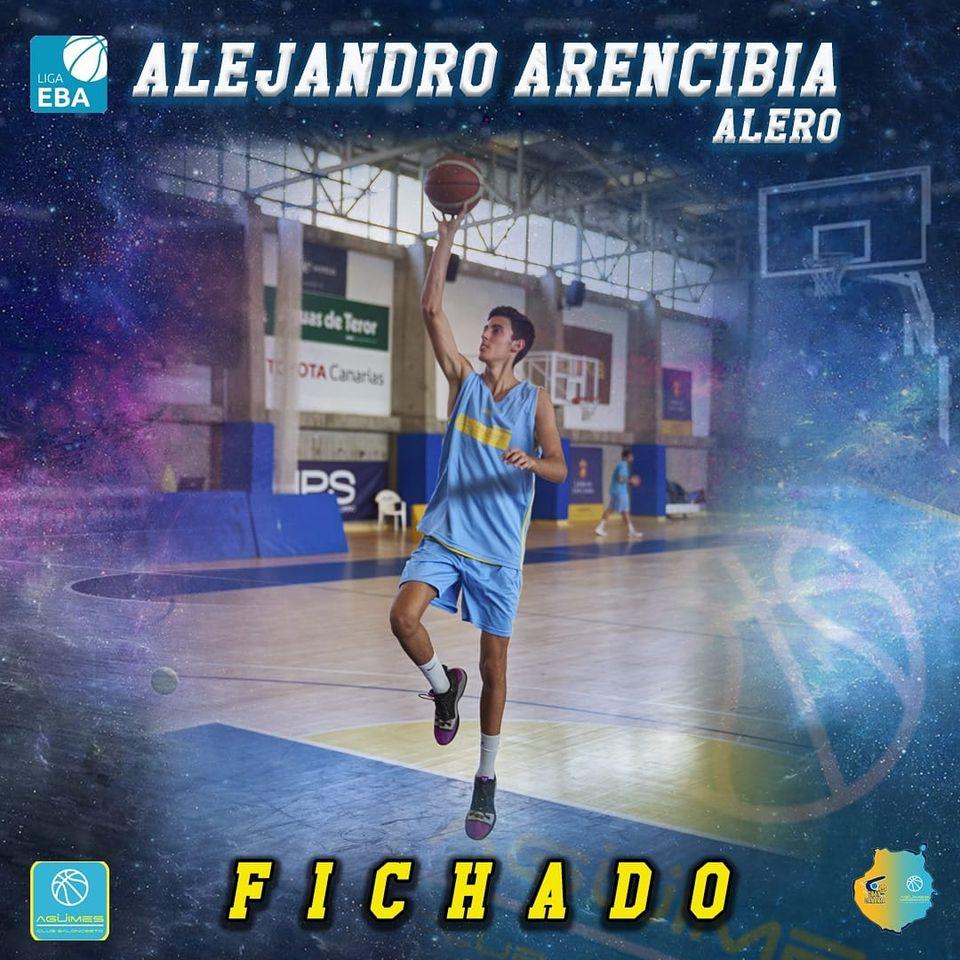 Alejandro Arencibia, del Gran Canaria-Claret al Agüimes de Liga EBA
