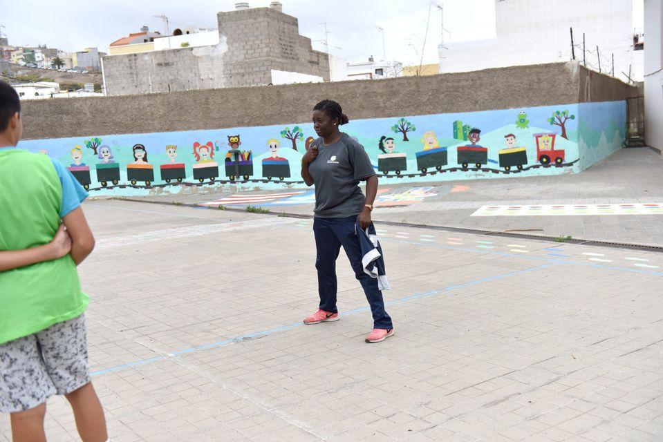 El Club Deportivo Axinamar comenzará a trabajar en Jinámar