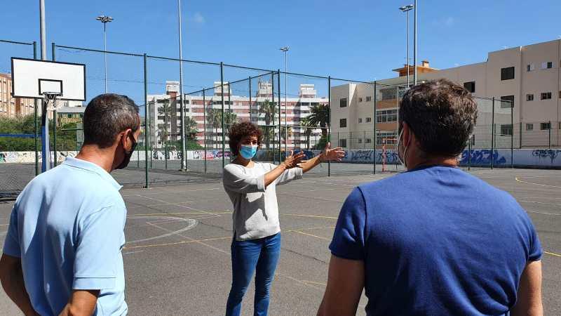 Deportes plantea un uso federativo para las canchas públicas de Tío Pino