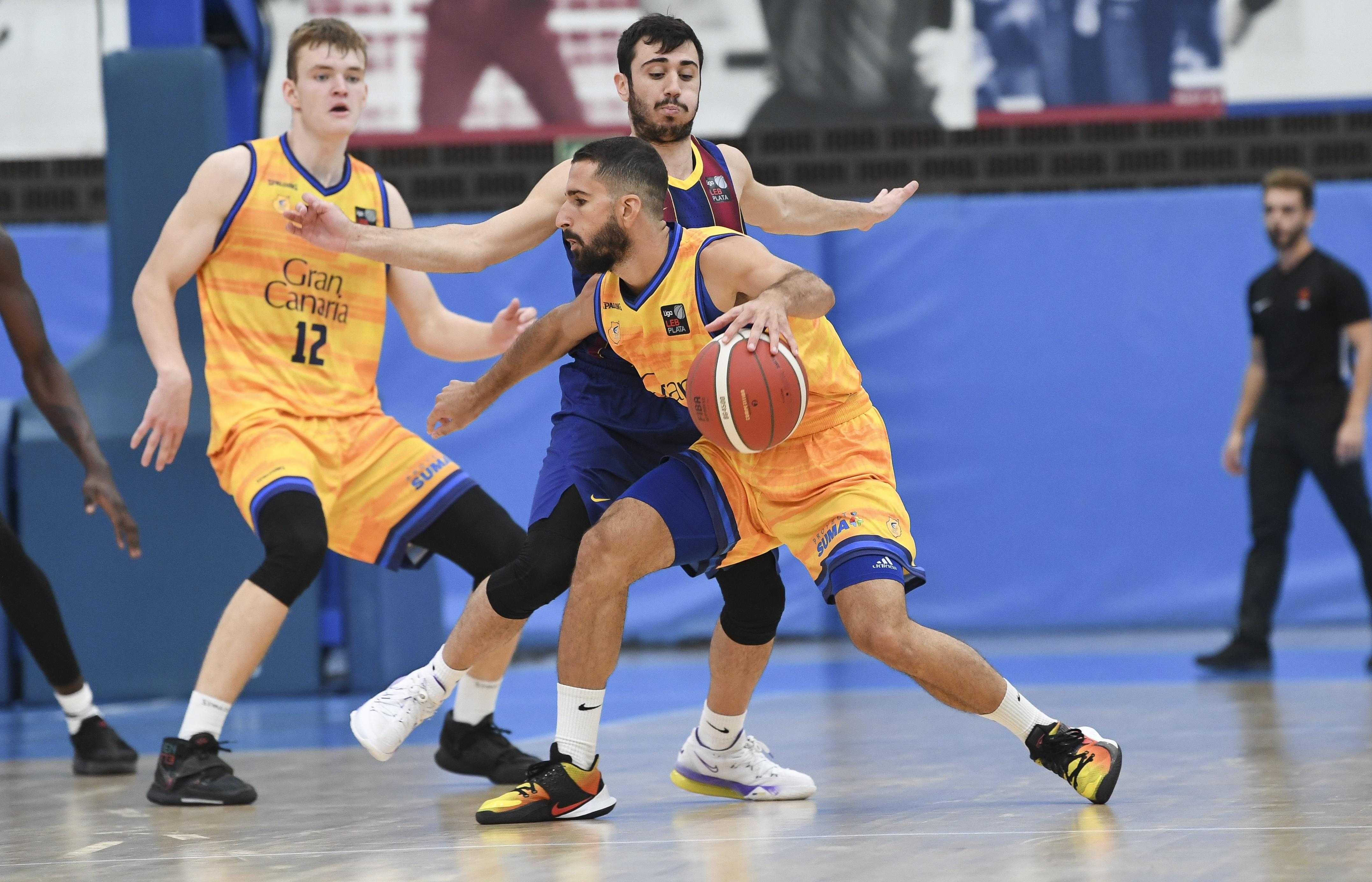 Gran triunfo del Gran Canaria-Claret ante el Barça en el comienzo de la LEB Plata