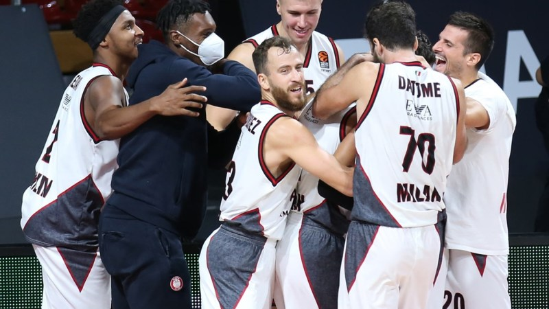Buen partido de Sergio Rodríguez y victoria de Olimpia Milano en el comienzo de la Euroliga