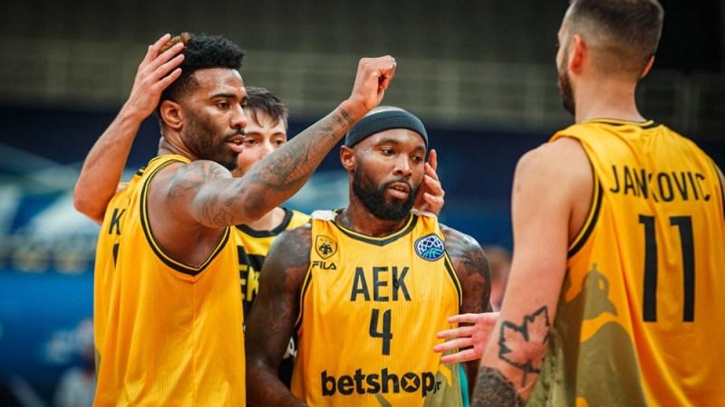 AEK Atenas, posible rival aurinegro en las semifinales de la BCL