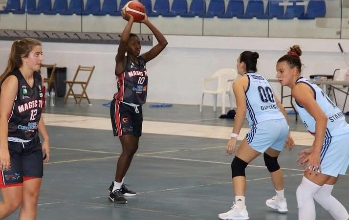Haidara debutó como jugadora del Magec Tías de Liga Femenina 2