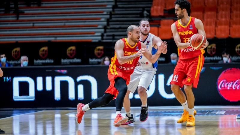 Discreto partido de Beirán en la decepcionante derrota de España ante Israel