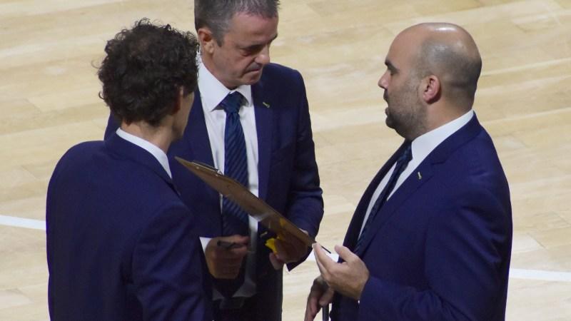 García: «Será un partido clave para acabar entre los primeros de grupo»