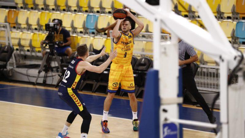 Un parcial de 6-25 en el tercer cuarto provoca la derrota amarilla ante Andorra