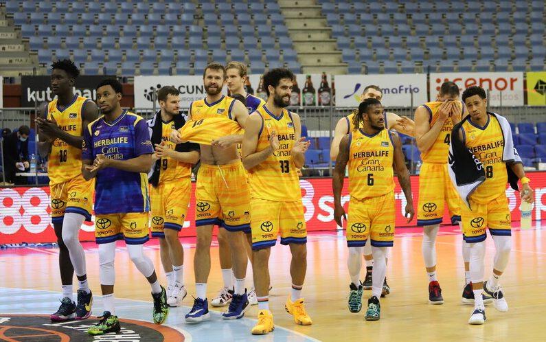 Gran Canaria-Claret respira tras ganar en Gipuzkoa y sumar dos triunfos consecutivos por primera vez en ACB