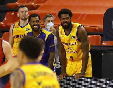 Kilpatrick y Clark debutaron como jugadores del Gran Canaria-Claret