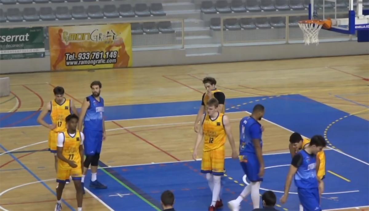 La poca efectividad en el tiro exterior y el rebote, claves para la derrota del Gran Canaria-Claret de LEB Plata en Cornellà