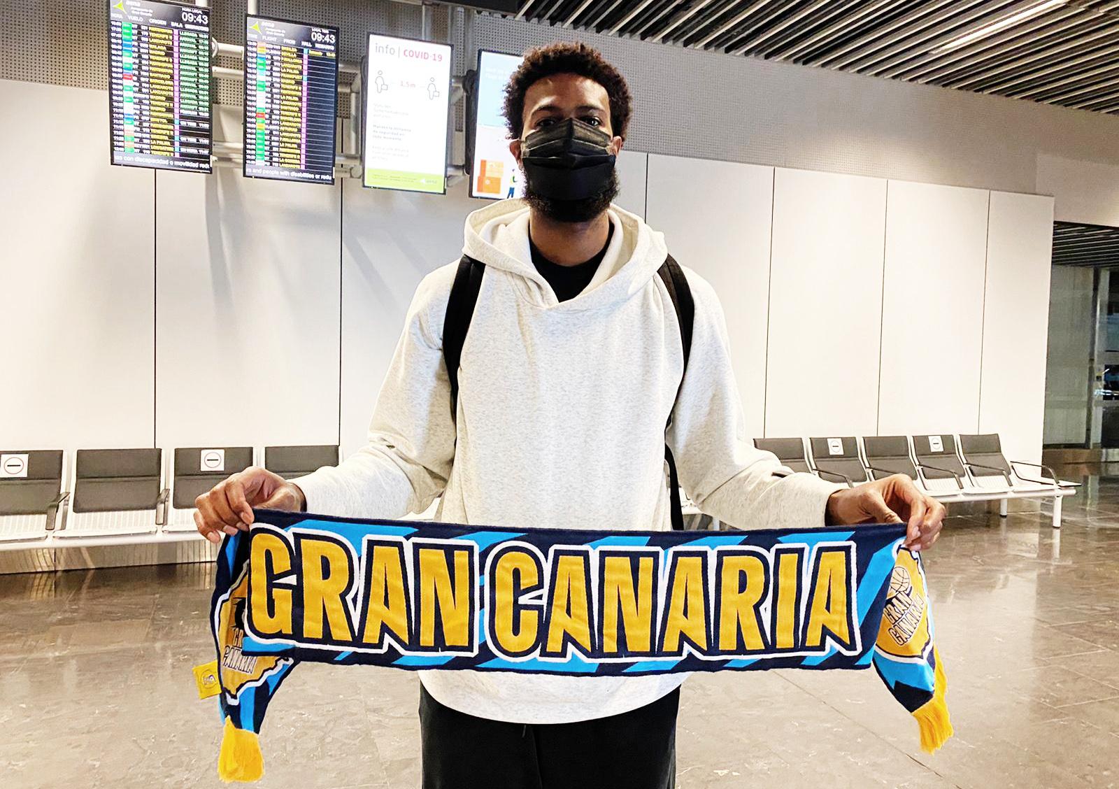 Earl Clark ya está en Gran Canaria y ha pasado el reconocimiento médico