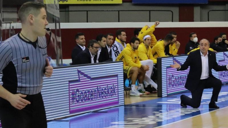 Vidorreta, sobre la victoria del Gipuzkoa: «Se han disfrazado de nosotros»