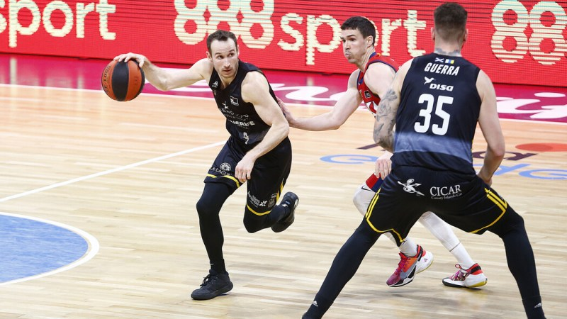 Huertas y Shermadini comandan la decimosexta victoria aurinegra en ACB