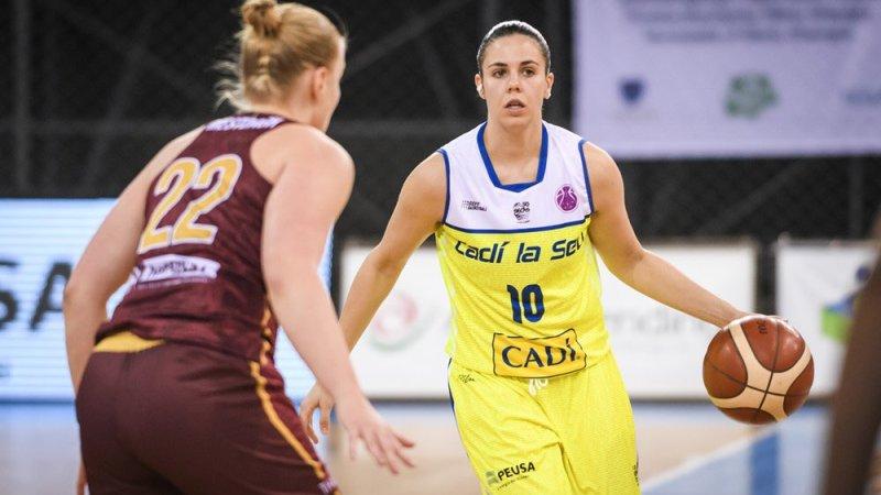 Dos de dos para Yurena Díaz en la EuroCup Women