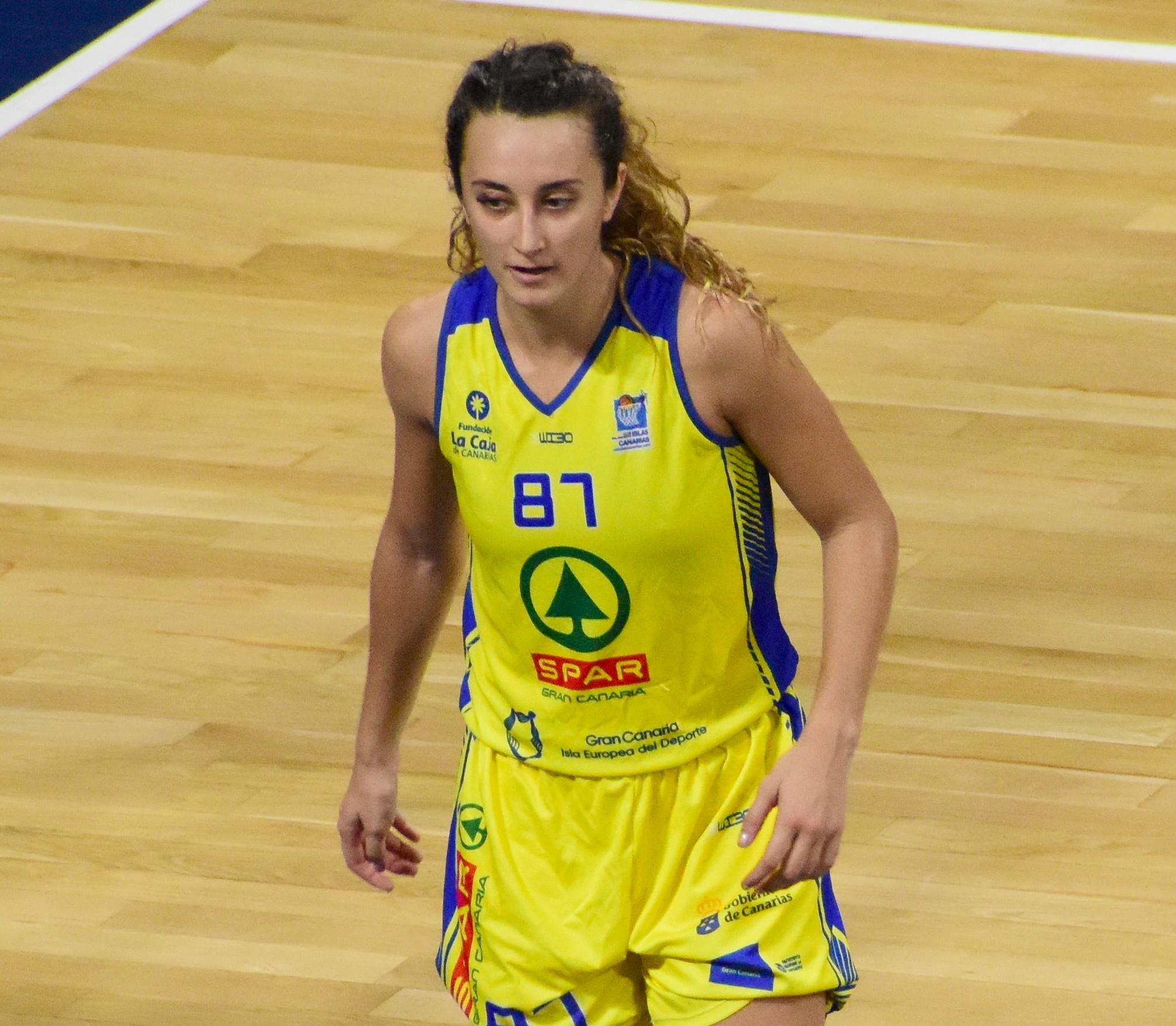 Marta Hermida, entre las mejores de la vigesimoprimera jornada en Liga Femenina
