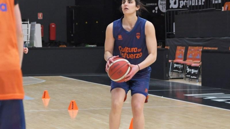 Leticia Romero buscará con Valencia Basket llegar lejos en la Eurocup