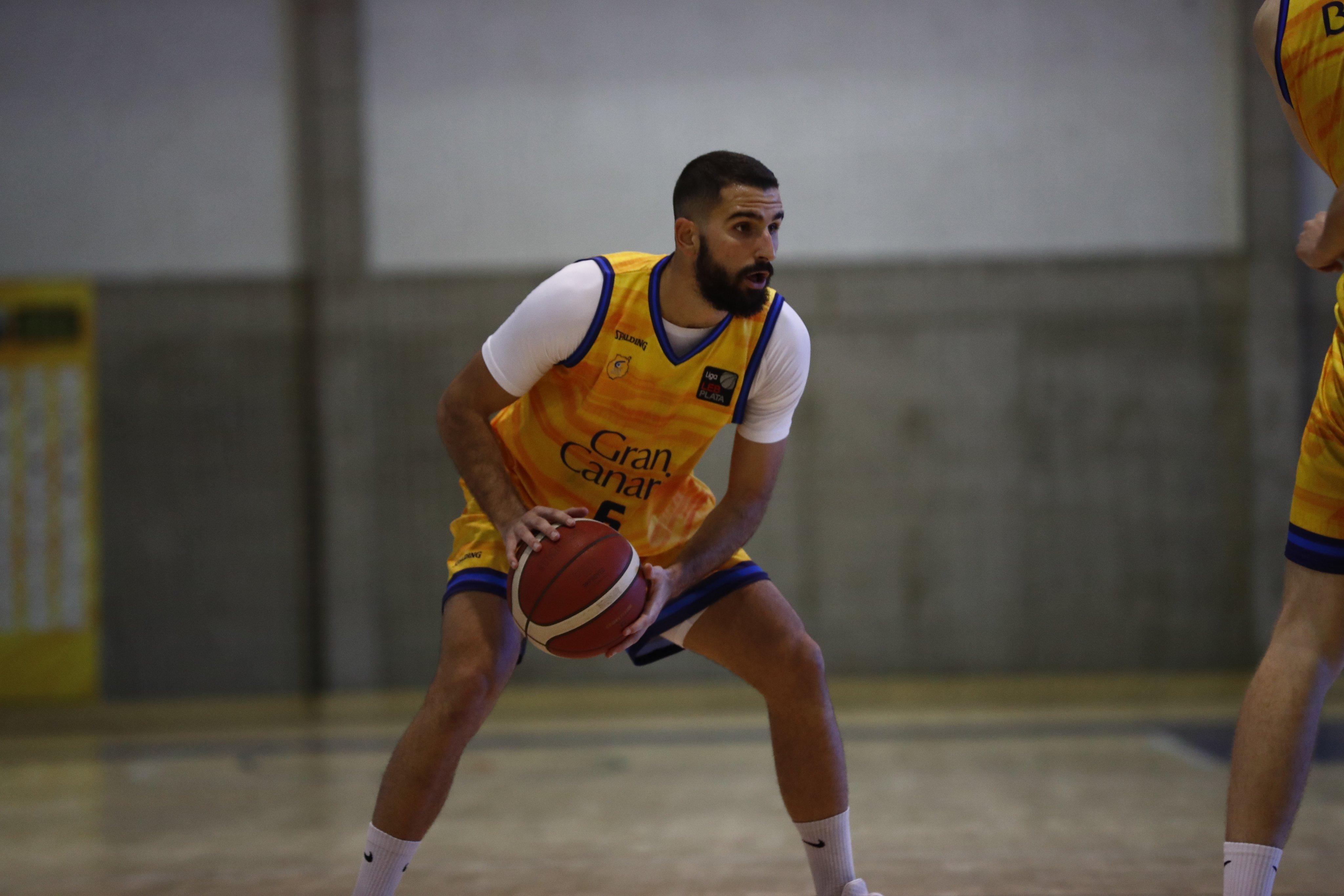 Javi López jugará en la primera plantilla del Gran Canaria-Claret la próxima temporada