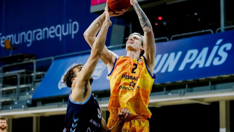 Triunfo y 'average' del Gran Canaria-Claret en Andorra para seguir vivo en EuroCup