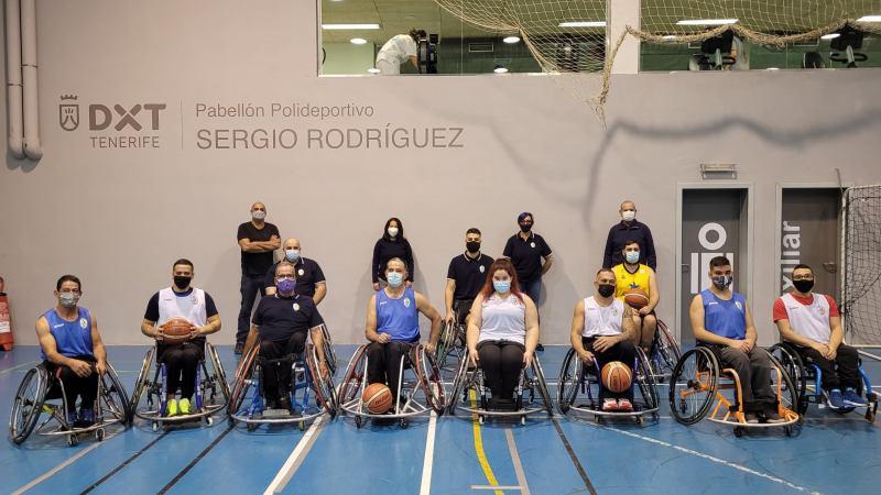 Rivero se interesa por el proyecto de ADEIN Tenerife