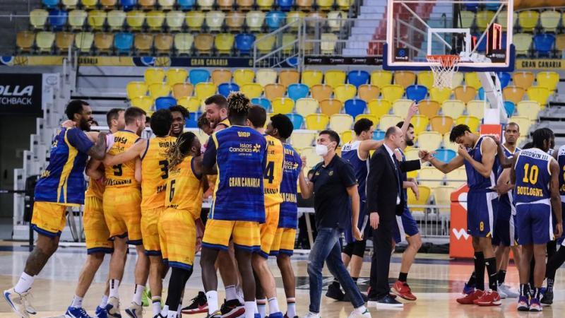 Gran Canaria-Claret gana a Metropolitans 92 y jugará las semifinales de la EuroCup