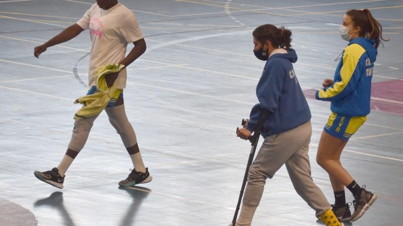Sendy Basáez sufre una fractura en el peroné de su pierna izquierda y estará de baja de dos a seis meses