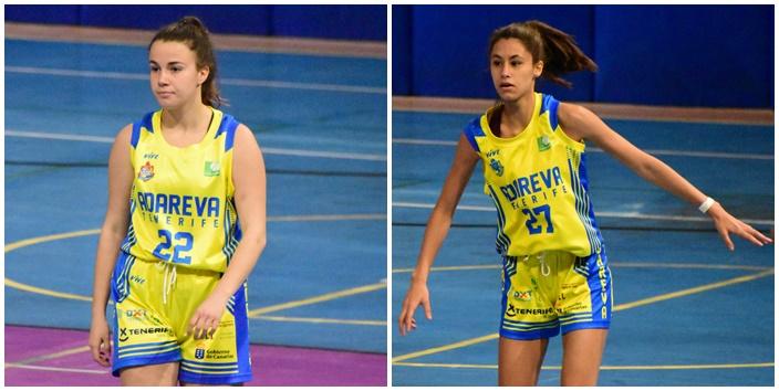 Castro y Delgado, dos júniors que debutan en Liga Femenina 2 con el Adareva
